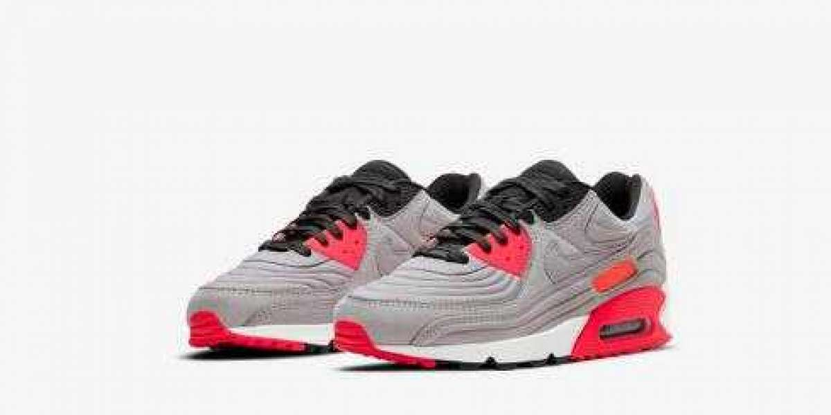 New Nike Air Max 90 QS Grey Pink White Releasing Soon