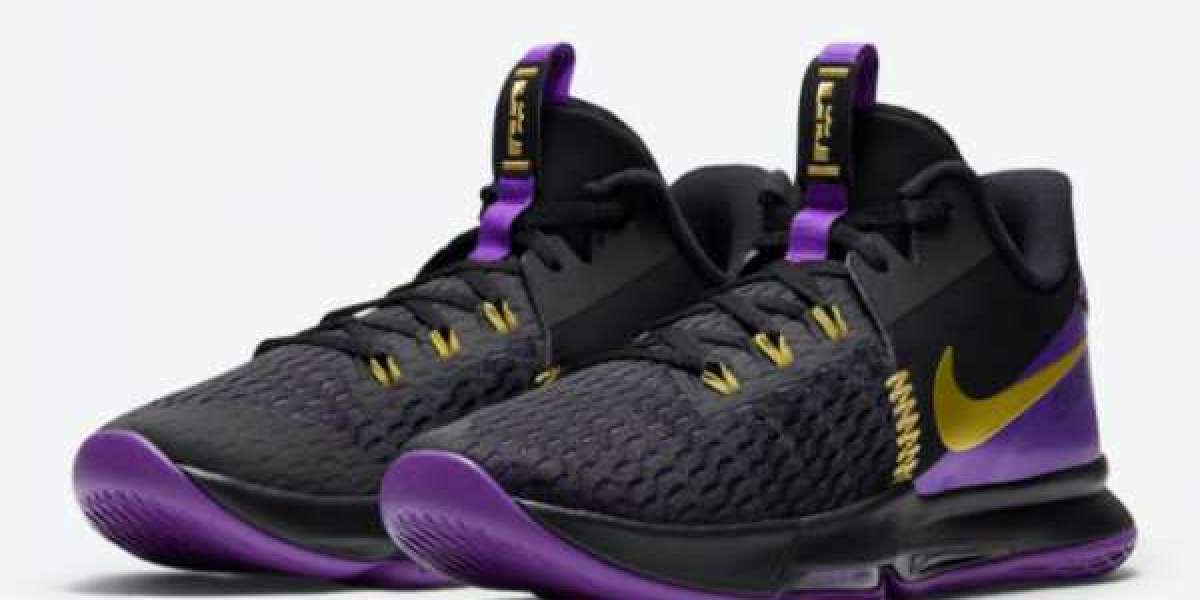 """How About The Nike LeBron Witness 5 """"Lakers"""" Basketball Shoes CQ9381-001 ?"""