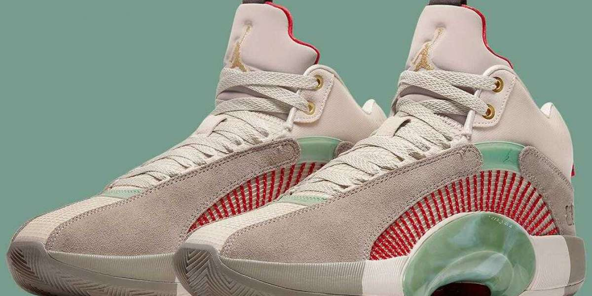 The CLOT x Air Jordan 35 DD9322-200 to Release Early 2021