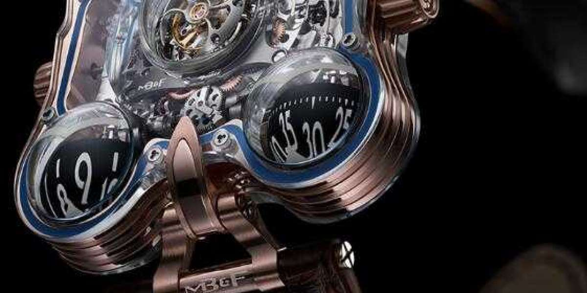 MB&F HM1 Horological Machine N1 White Gold 10.T41.WL.R watch