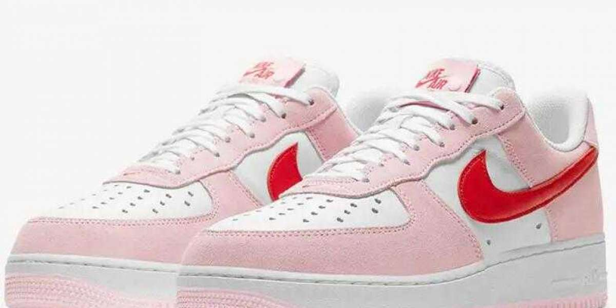 Nike Air Force 1 07 QS 2021 Valentine's Day DD3384-600 Coming Soon