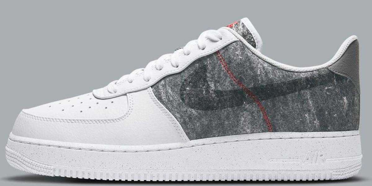 """Newly Nike Air Force 1 Low Is Coming With """"White/Light Smoke Grey"""""""