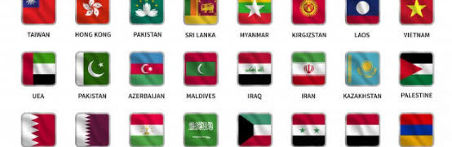 The Beautiful Asian Countries United