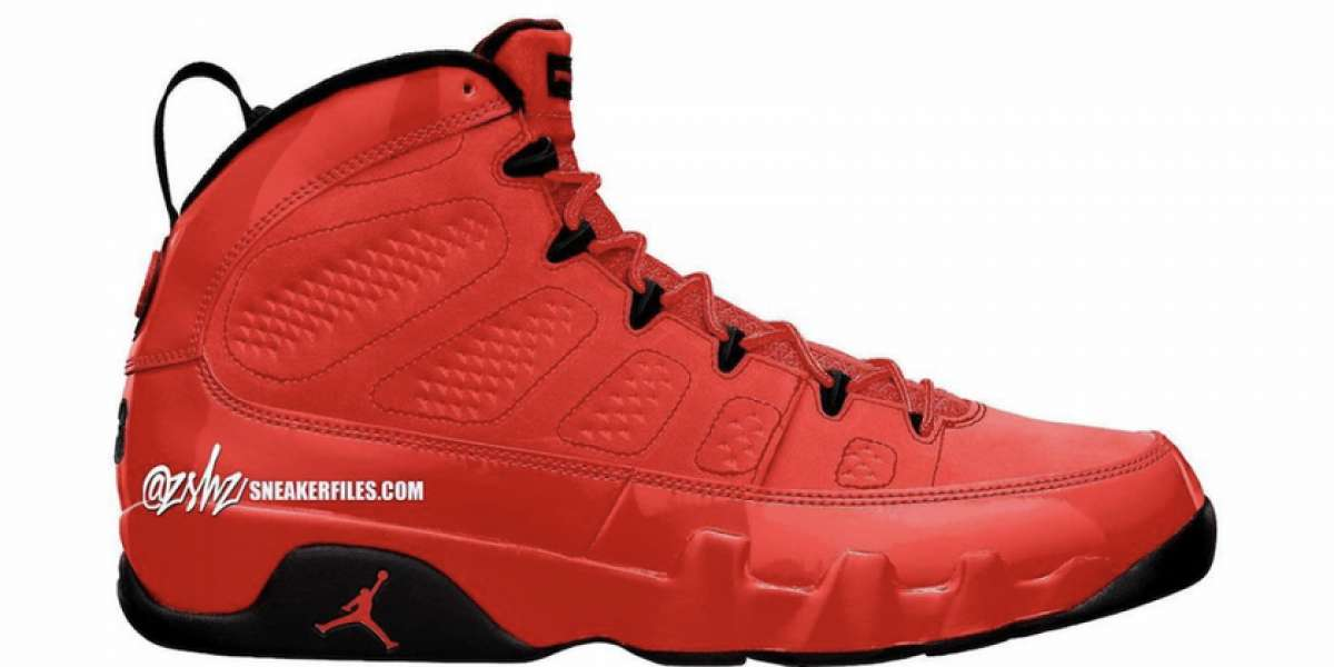 """CT8019-600 Air Jordan 9 """"Chile Red"""" will be officially released on November 6th"""