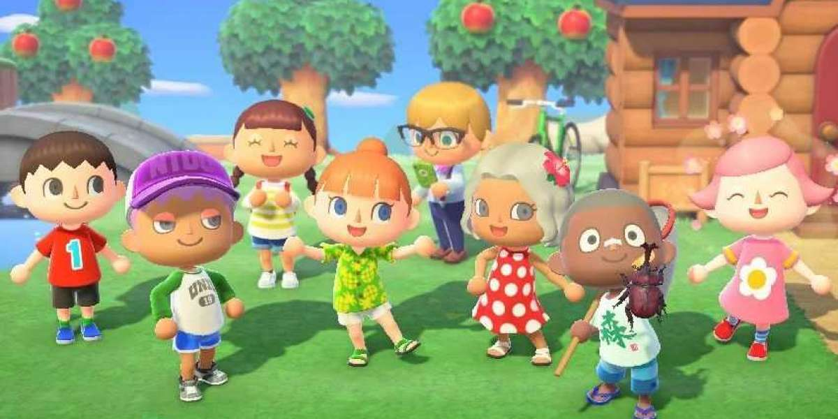 Animal Crossing gamers are making neat optical illusions