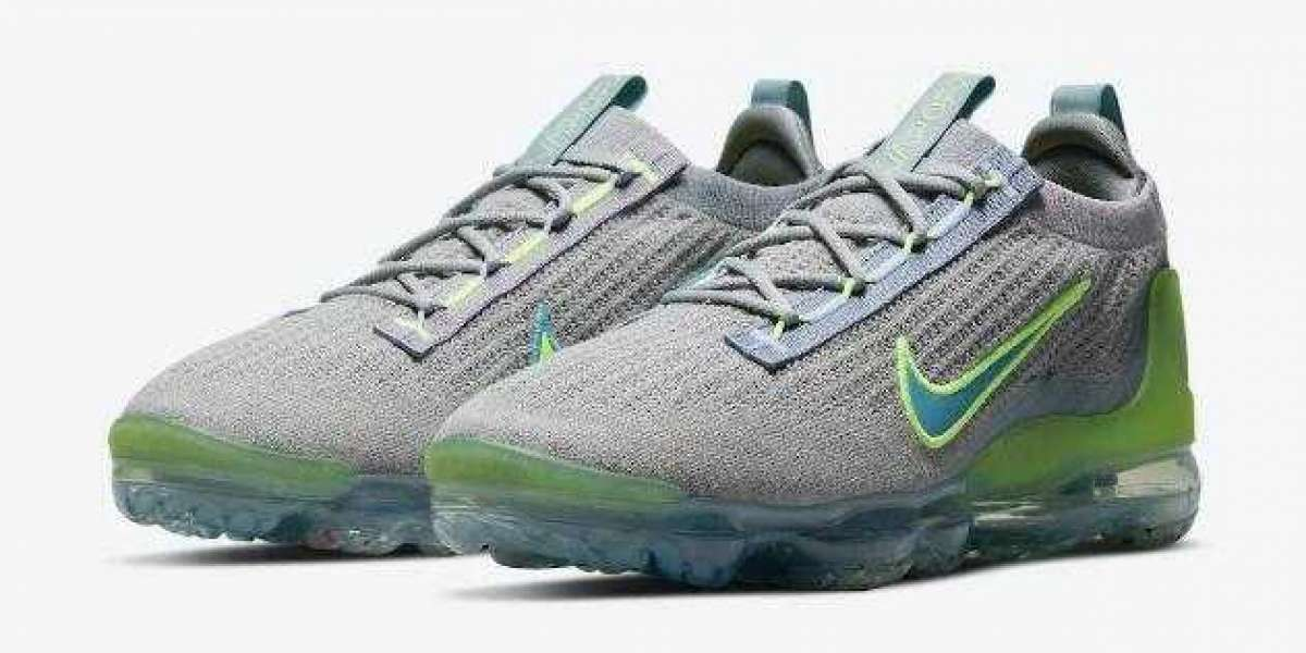 """AWESOME NIKE AIR VAPORMAX 2021 COMING IN """"GREY NEON"""""""