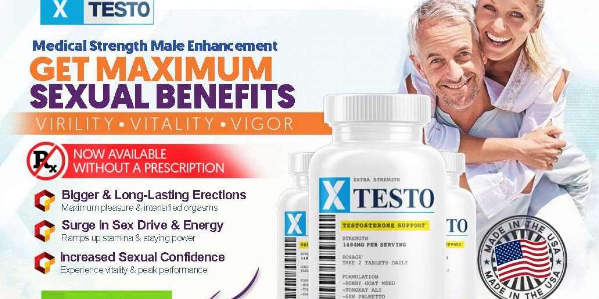 Xtesto Male Enhancement How to Use, Benefits and Where to Buy?