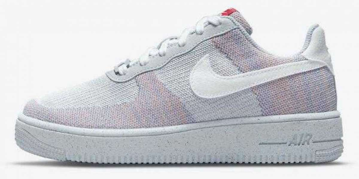 """Nike Air Force 1 Crater Flyknit Releasing """"Wolf Grey""""Colorway"""