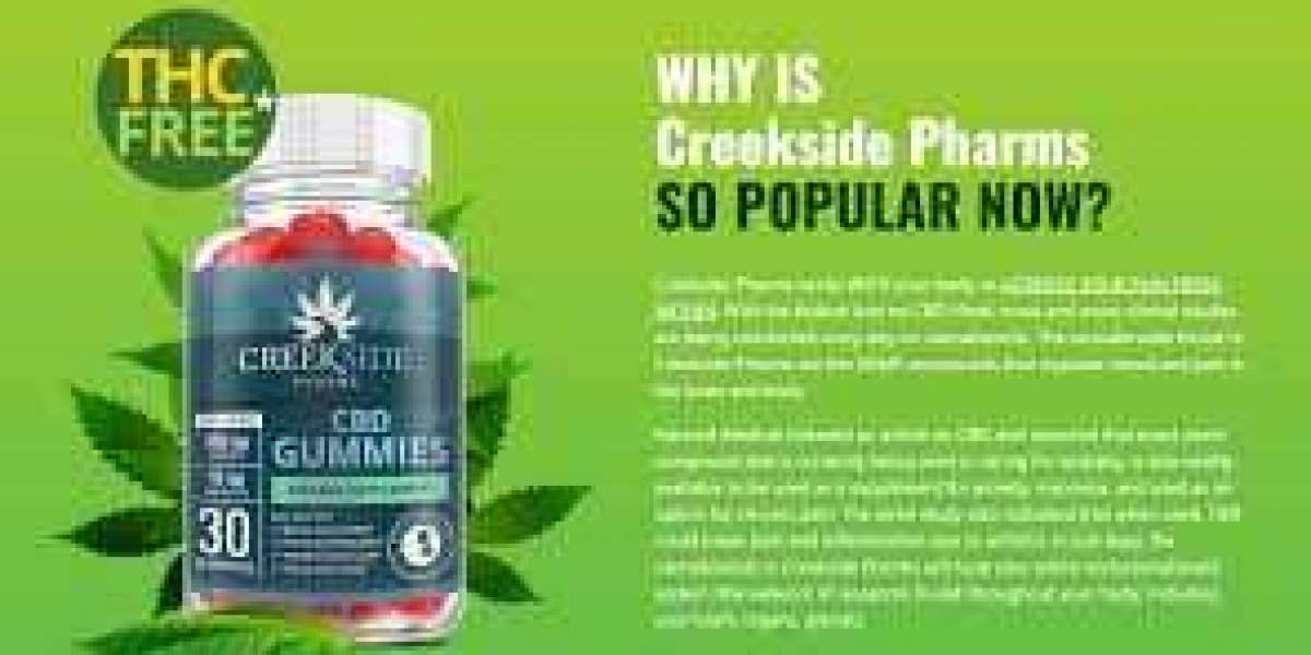 Creekside Pharms CBD Gummies - Pain Relief Reviews, Results And Ingredients