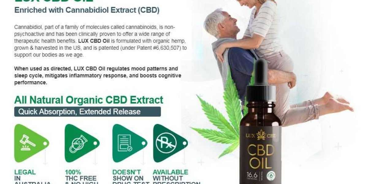 Lux CBD Oil Reviews:Promotes Better Mental Health And Function
