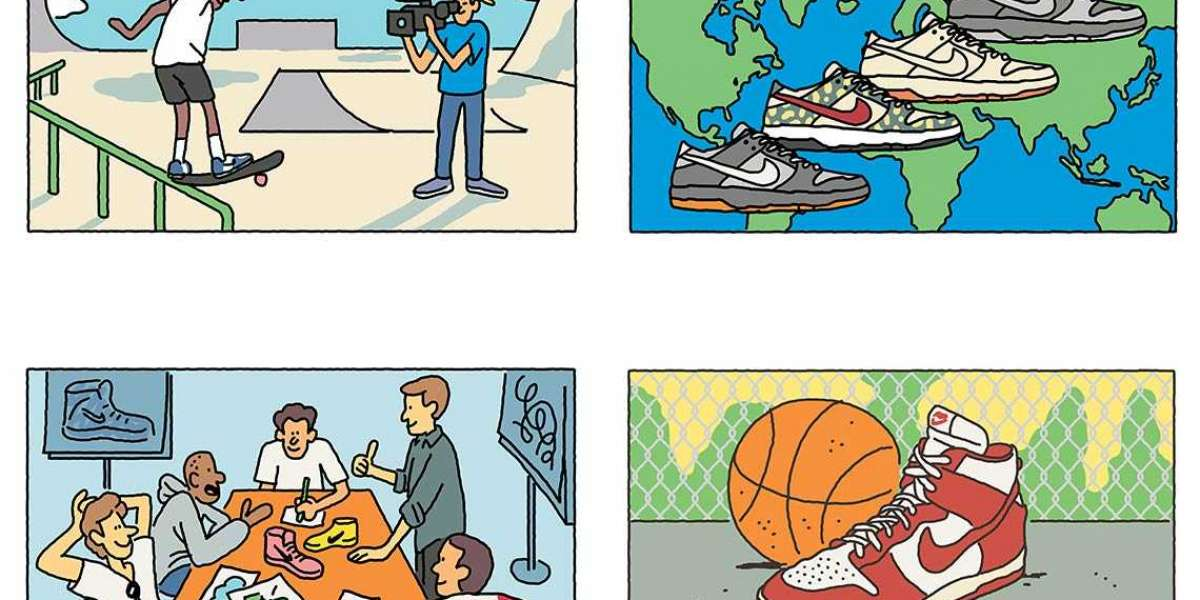 What are Nike slam dunk shoes?