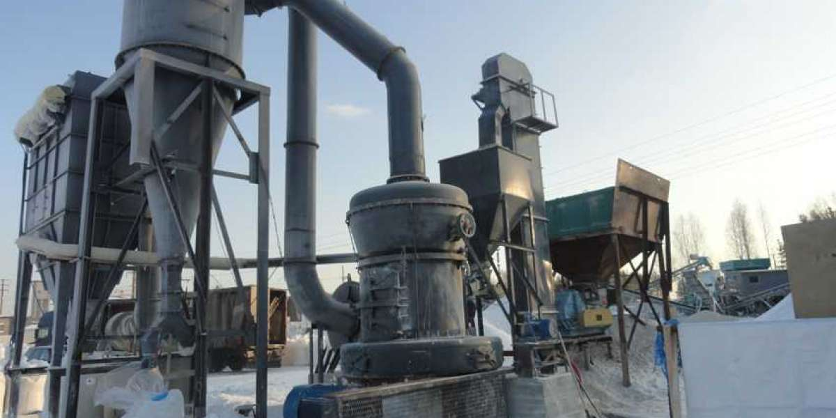 Working Process Of Vertical Roller Mill