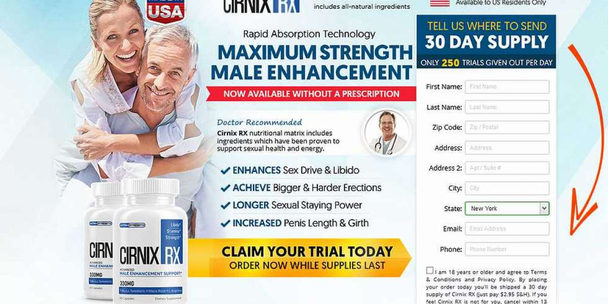Cirnix Rx  Male Enhancement Reviews, Pills and Buying in USA