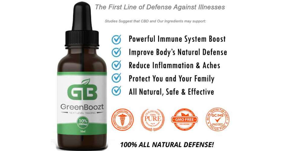 Green Boozt CBD Oil (Tested) - Does It Really Works Or Scam?