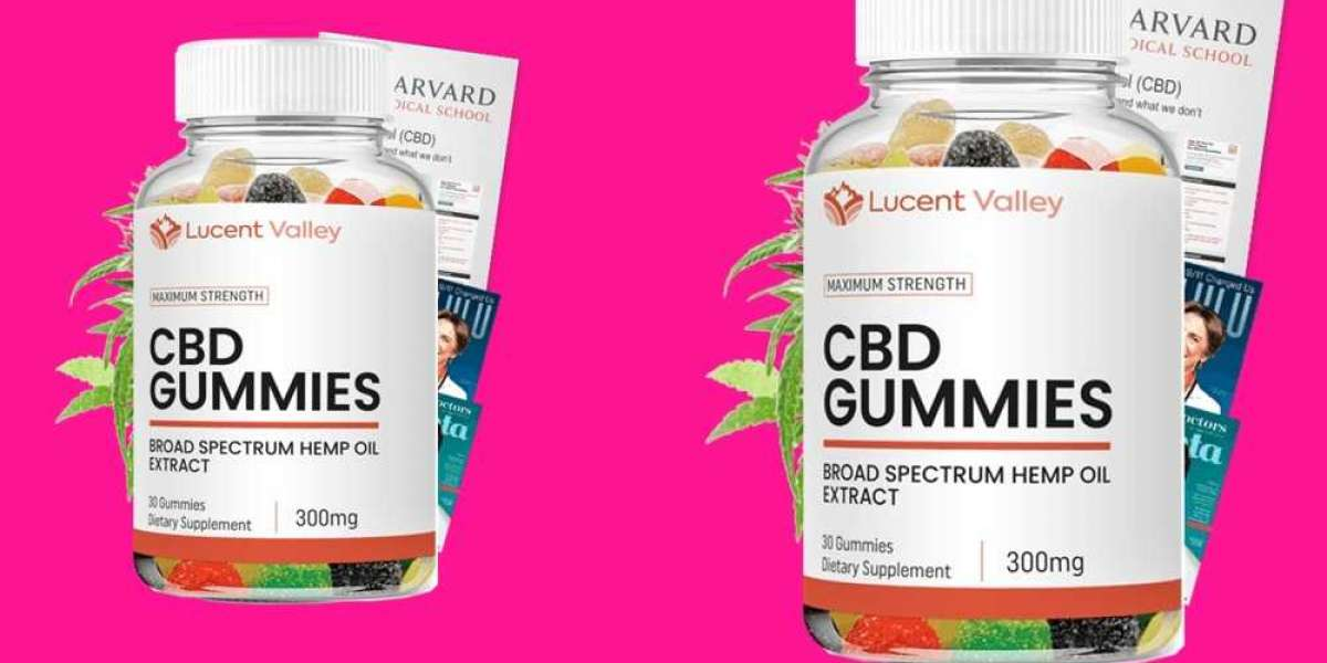 Lucent Valley CBD Gummies - Reduce Pain & Anxiety! Is It Worth To Buy?