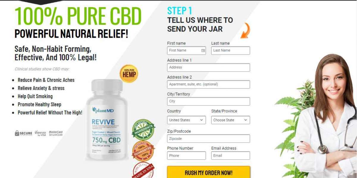 PlantMD Revive CBD Gummies - Updated Benefits & Price in USA