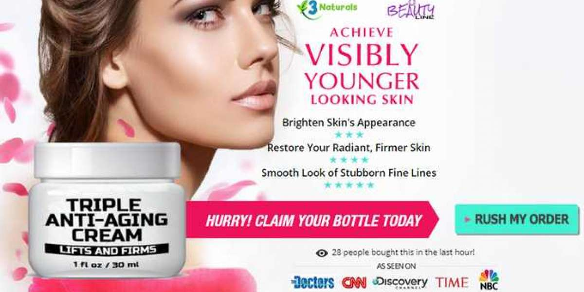 Triple Anti-Aging Cream Review, Ingredients, Benefits, Uses, Work and Where to Buy?