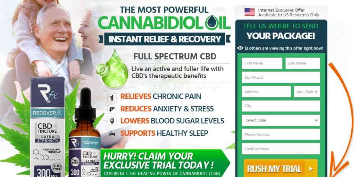 Recover FX CBD Tincture -Reviews, Price, Benefits & Where To Buy?
