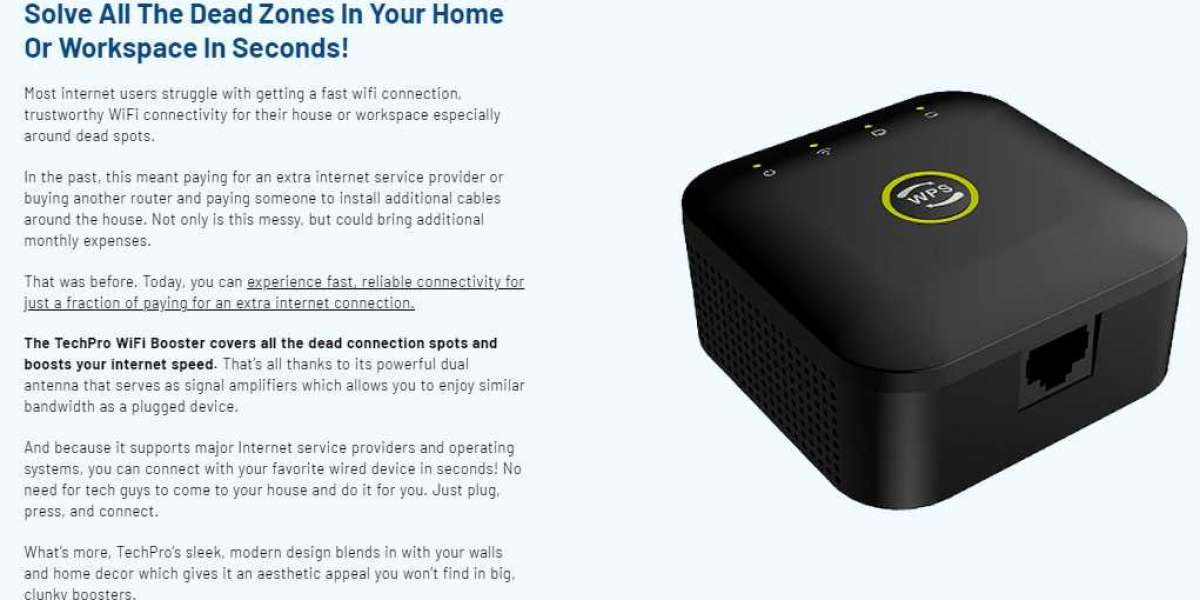 TechPro WiFi Booster Features, Review & Cost