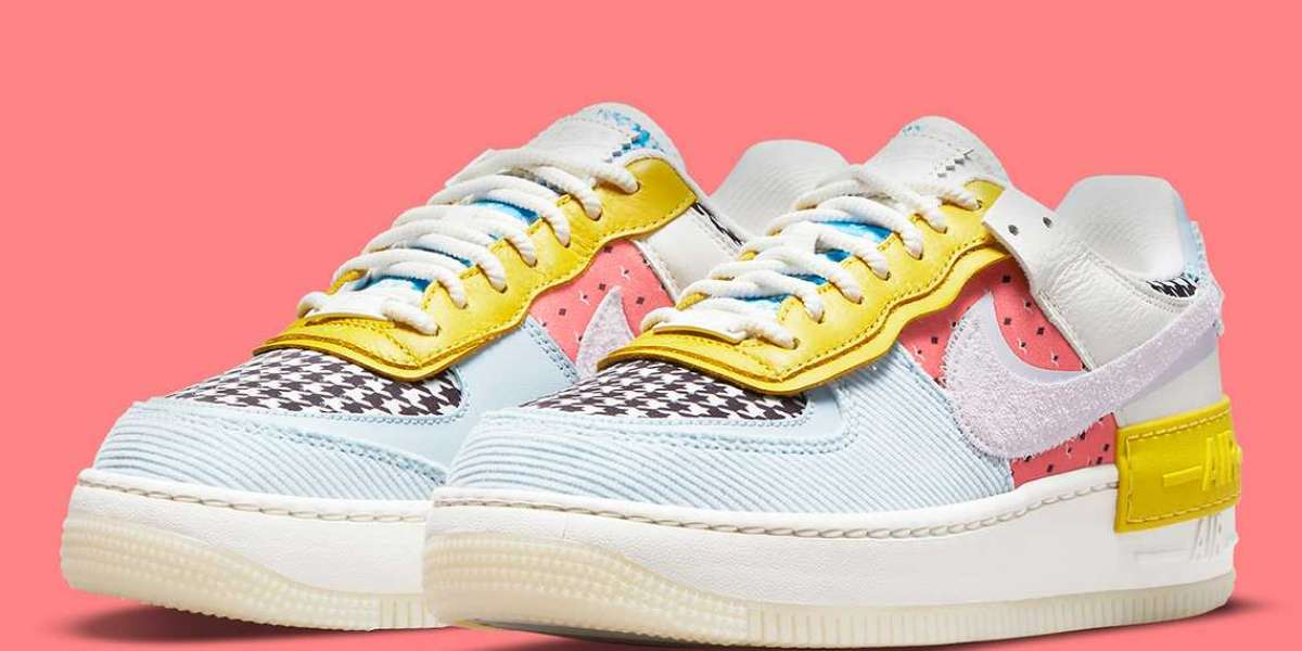 """DM8076-100 Nike Air Force 1 Shadow """"Multi-Color"""" release information"""