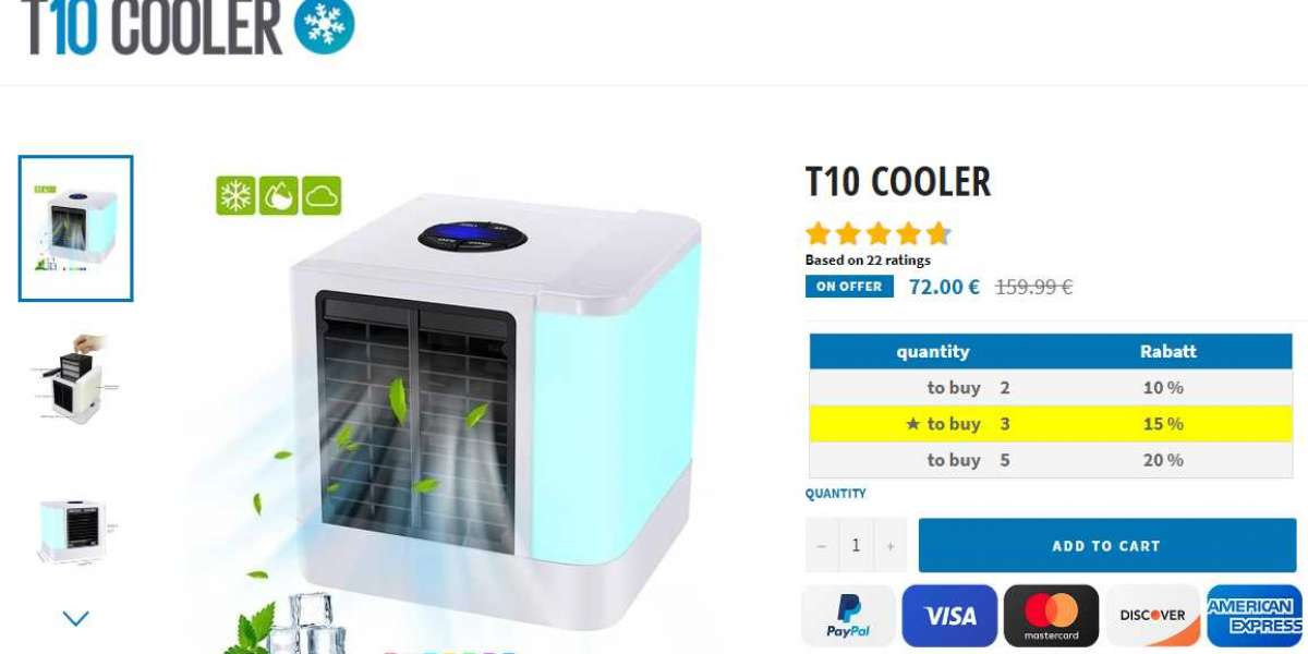 T10 Air Cooler - Updated Benefits, Features & Price in USA