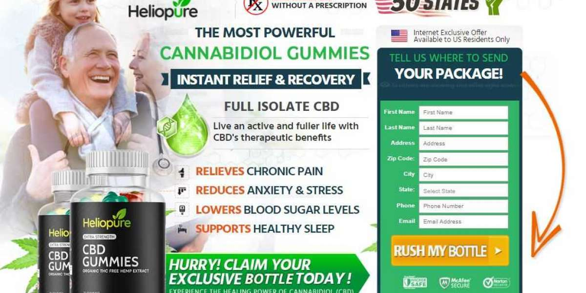 What is HelioPure CBD Gummies? And How Does It Work?