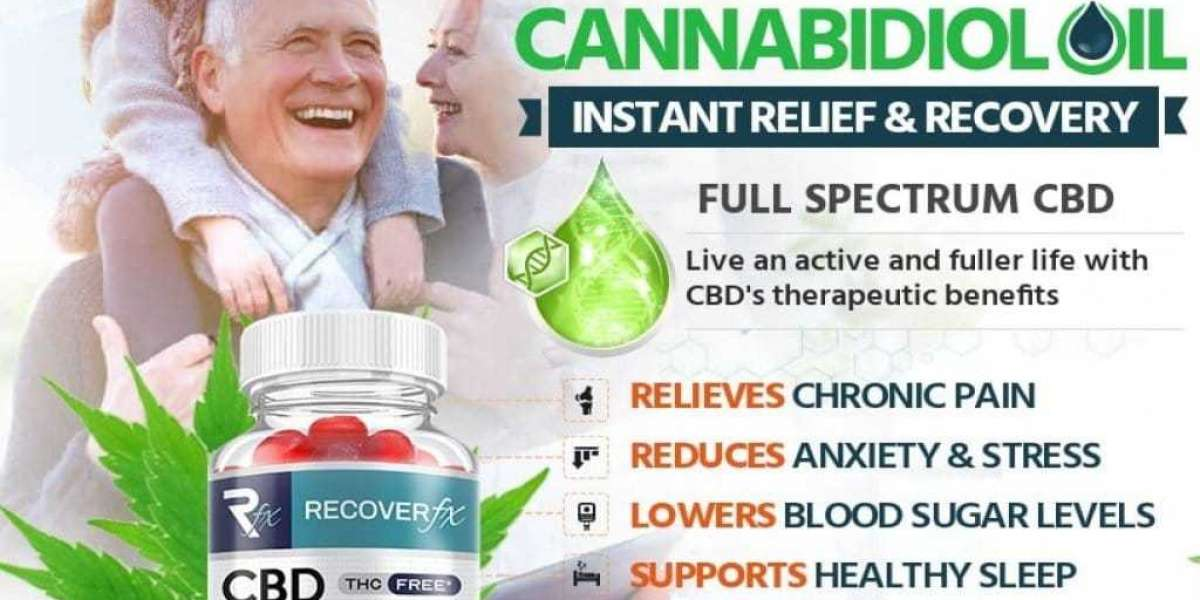 Recover FX CBD Gummies Reviews And Update Of This Month [2021]