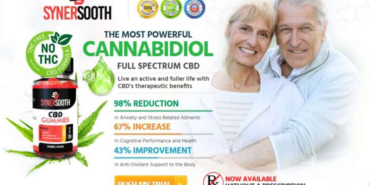 Syner Sooth CBD Gummies :Invigorates disposition and prosperity.