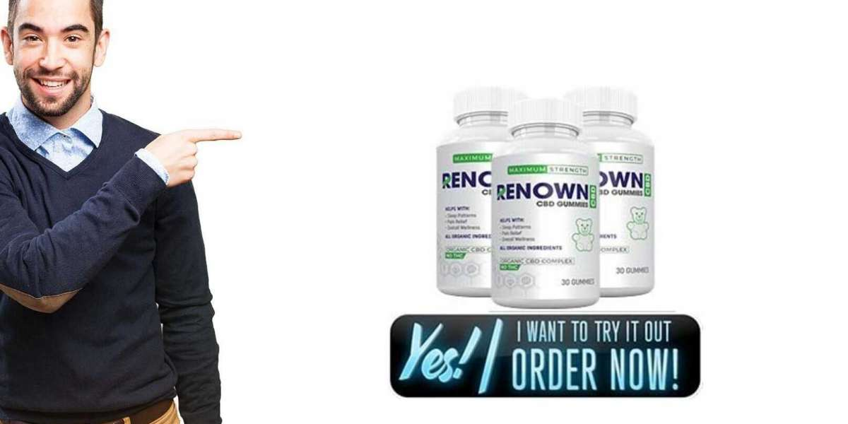 Renown CBD Gummies Reviews: Where To Buy?| Ingredients, No THC, Pain Relief, Price?!