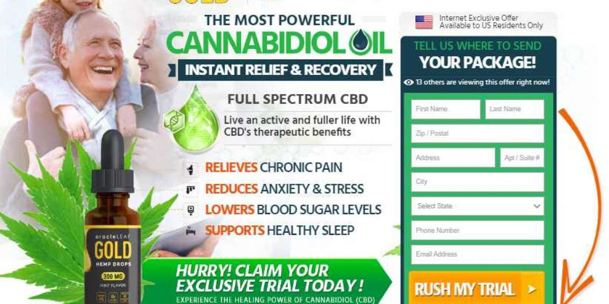 OracleLeaf Gold CBD Oil: Reviews, Benefits, Work, Uses, Results, Price and Buy Now!