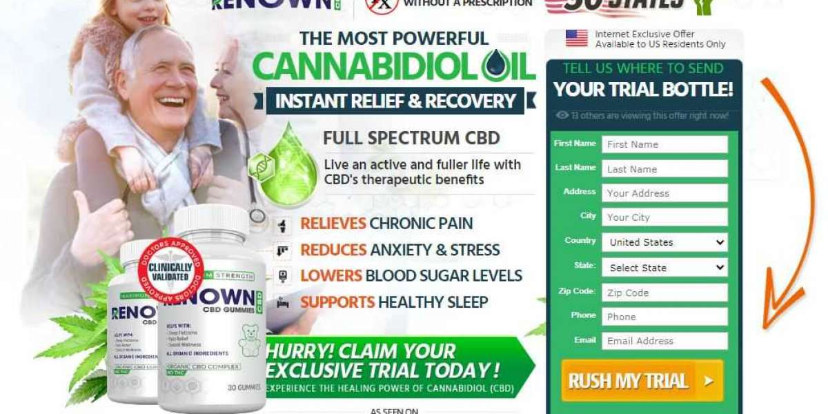 What Are Renown CBD Gummies and How To Use It?