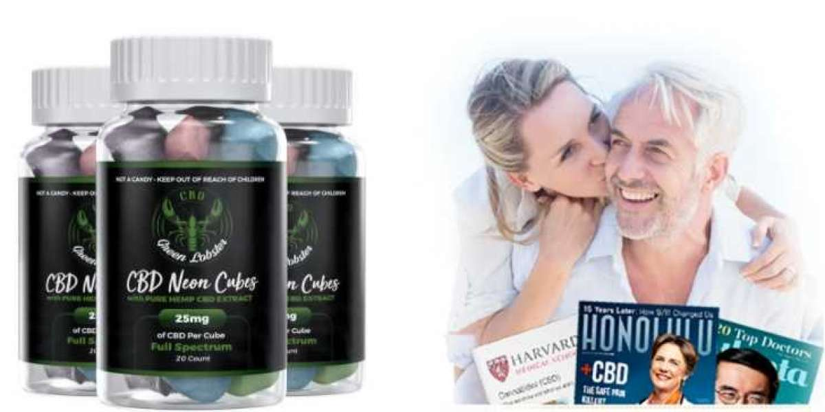 GREEN LOBSTER CBD GUMMIES REVIEW – REAL NEON CUBES BENEFITS?
