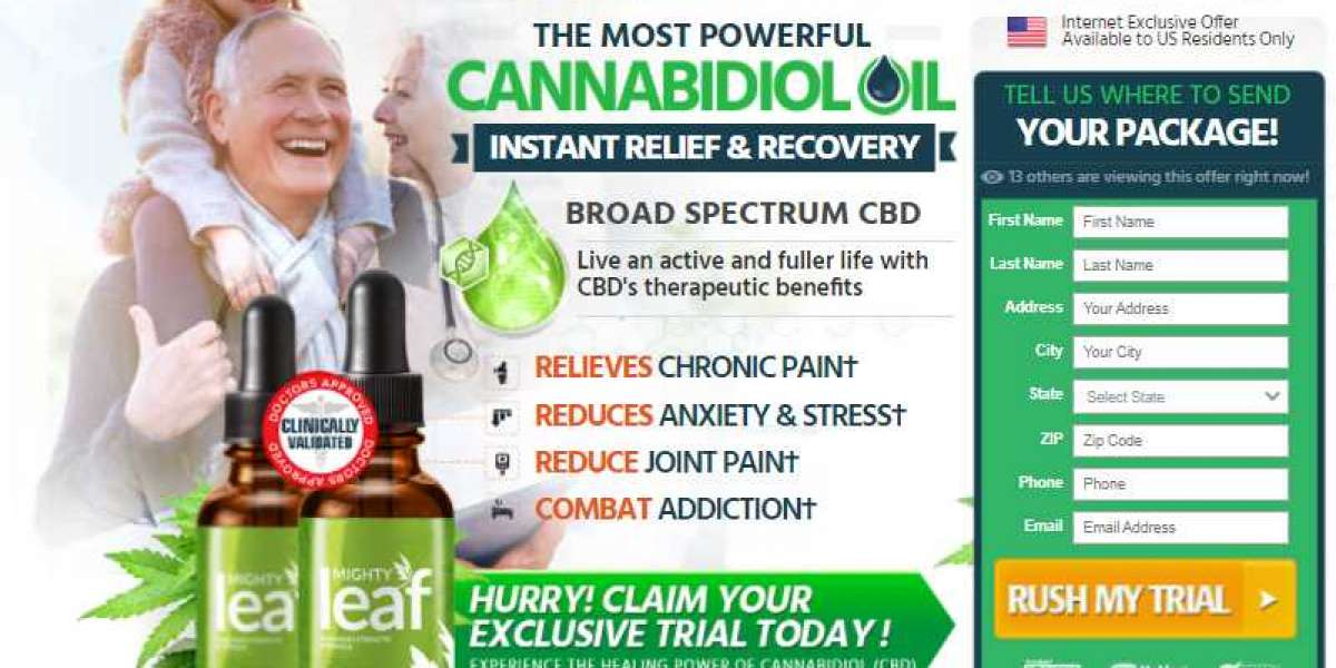 Mighty Leaf CBD Oil -Reviews, Price, Benefits & Natural Ingredients?