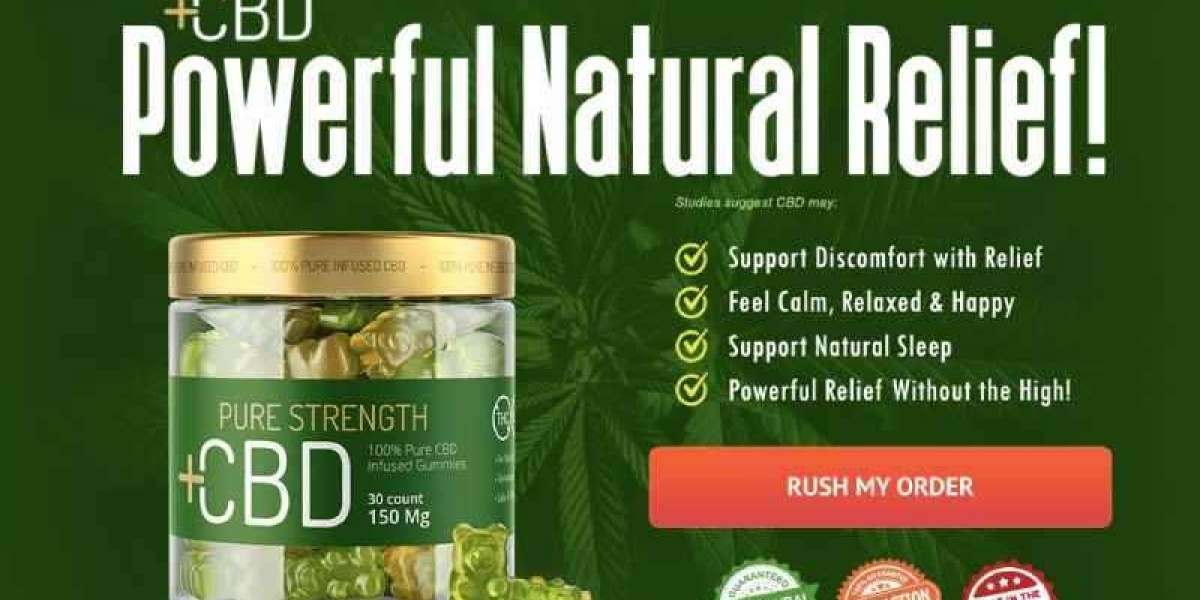 What Are Pure Strength CBD Gummies Canada And How Do They Work?