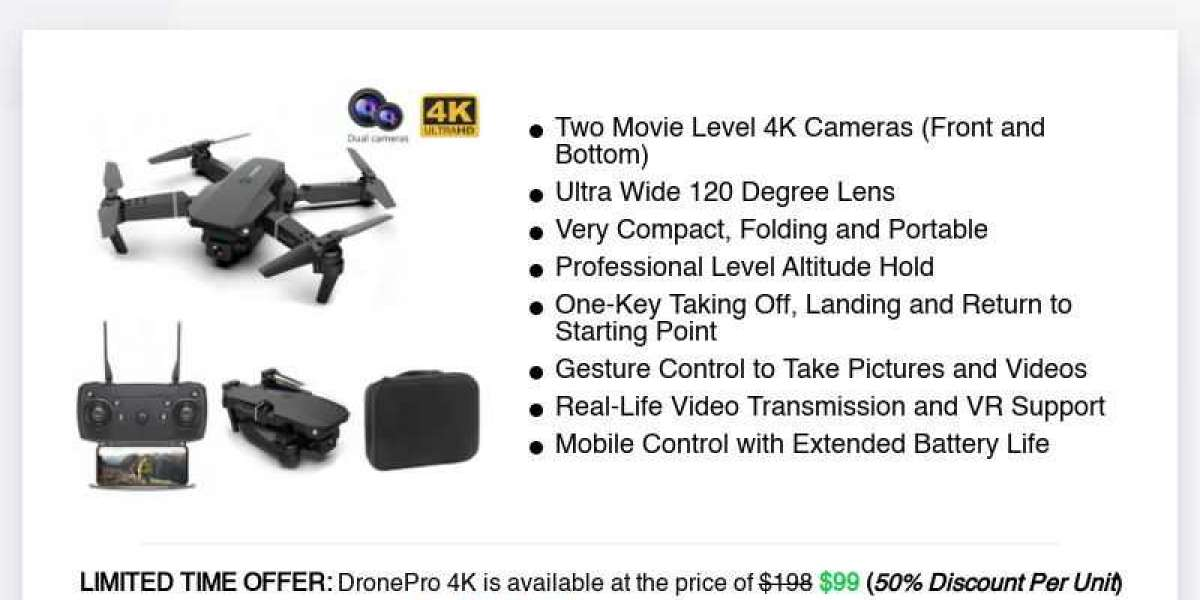 DronePro 4K Reviews: Why Users Love It?
