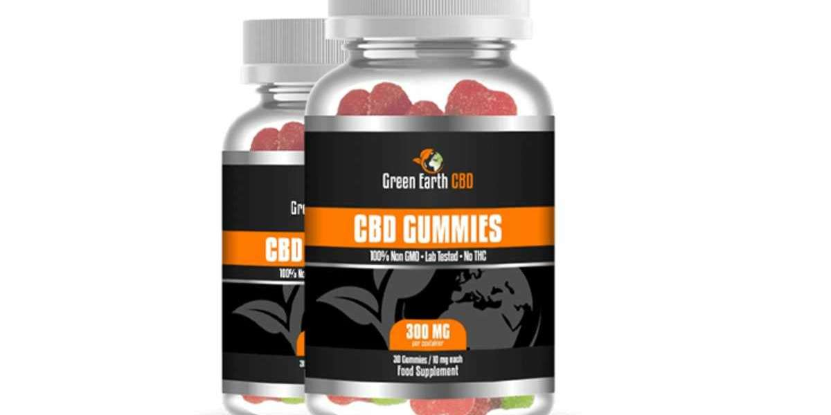 Green Earth CBD Gummies Reviews: Instant Relief From Joints Pain and Stress!