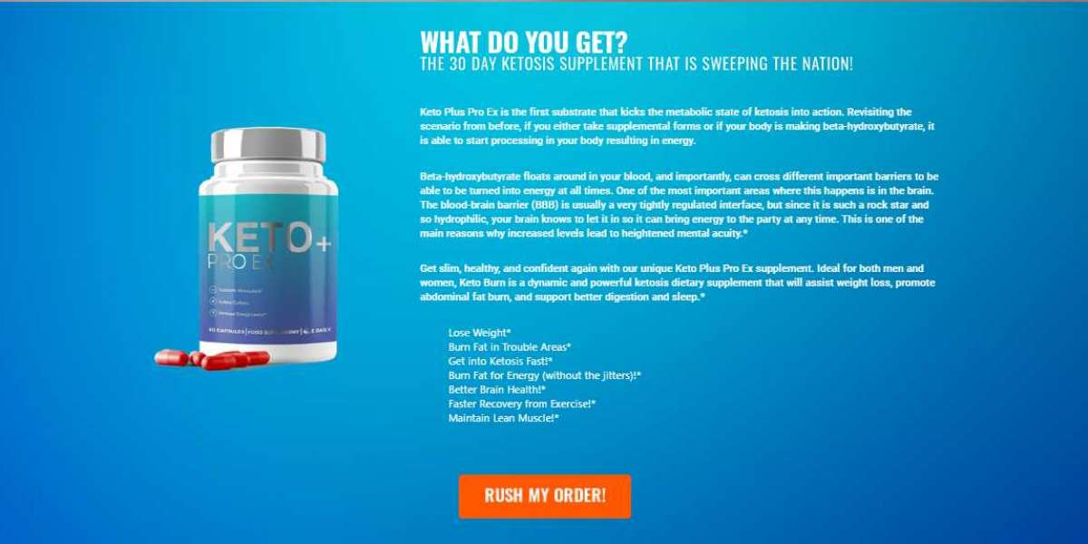Keto Plus Pro EX (UK) - Boost Up Metabolism & Speed Up Weight Loss!