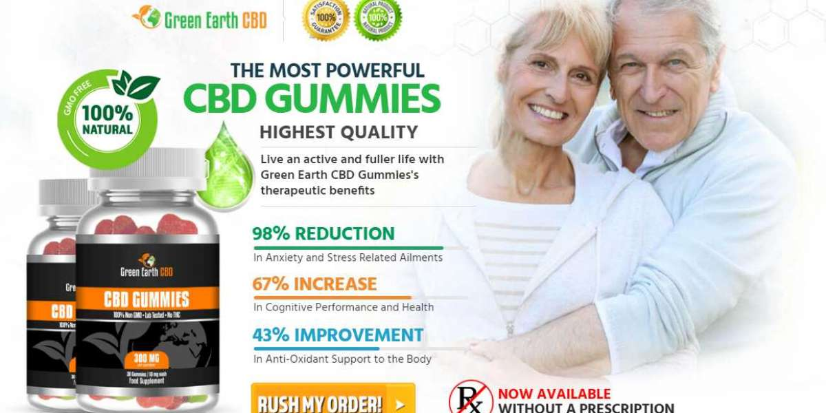 Take Relaxation To A Whole Next Level - Green Earth CBD Gummies
