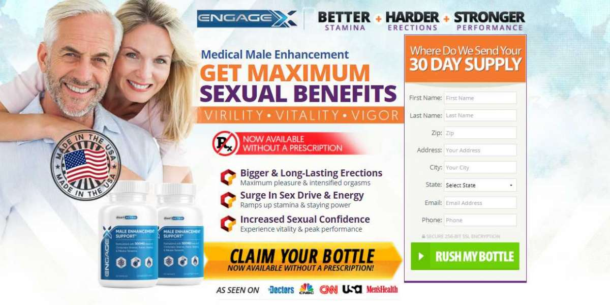 EngageX Male Enhancement Pills- Reviews,Enhance Sexual Power With EngageX