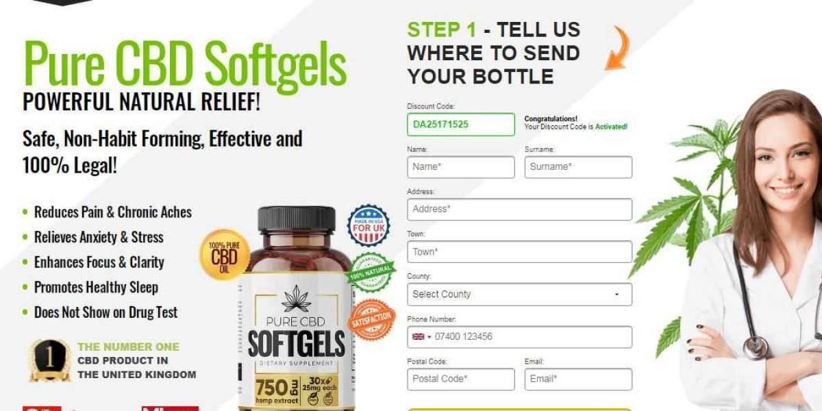 Pure CBD Softgels UK Price | Benefits & How To Use?