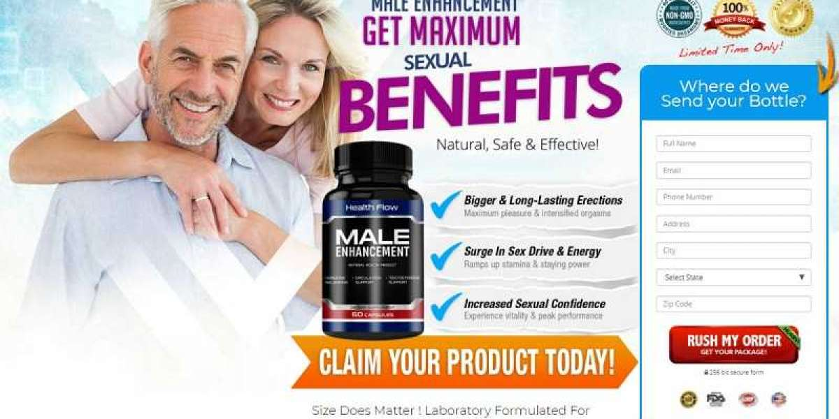 Health Flow Male Enhancement – Benefits, Price, Offer And Where To Buy !