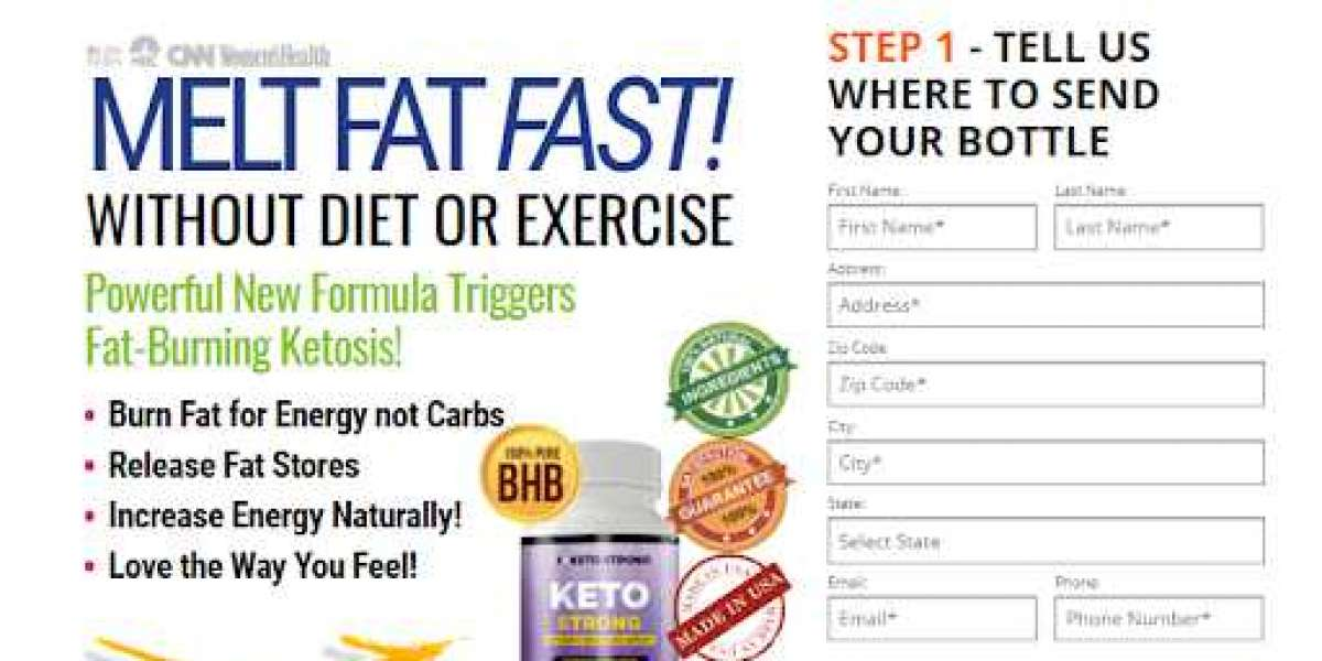 Keto Strong weight reduction supplement will guarantee solid and complete weight reduction