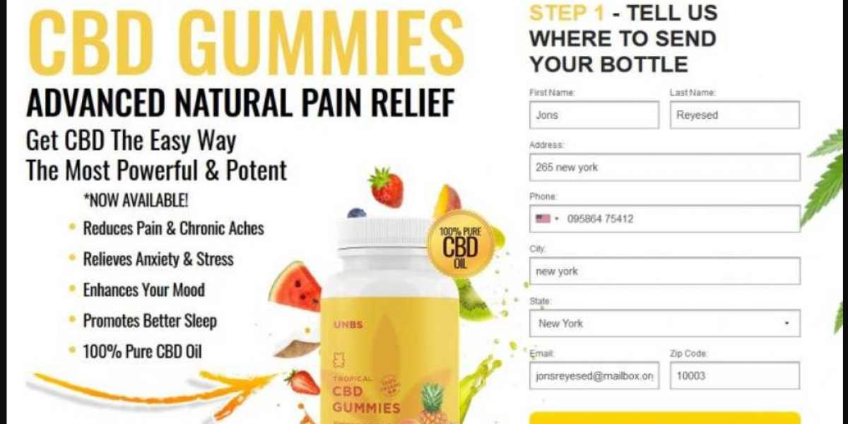 UNBS Tropical CBD Gummies Review : Best CBD Gummies for Anxiety, Depression and Pain