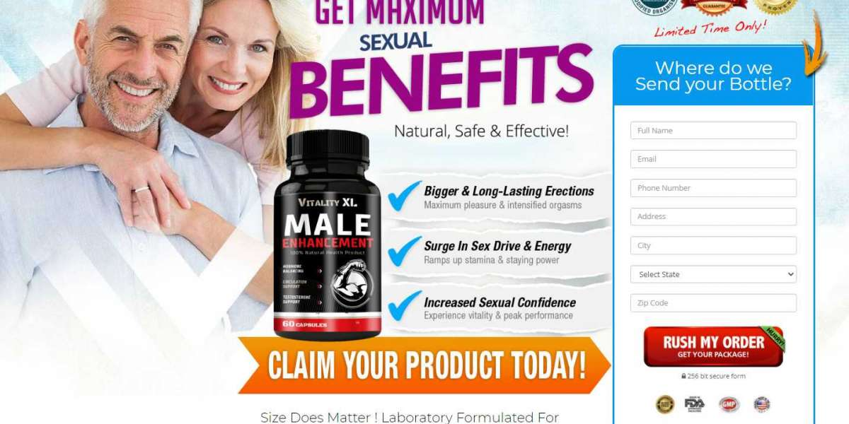 Vitality XL Male Enhancement : Scam Review and Price Where To Buy