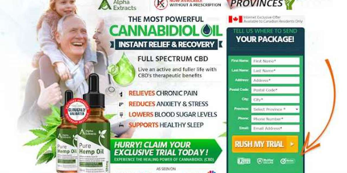 Alpha Extract CBD Oil Canada & Where To Buy In Canada?