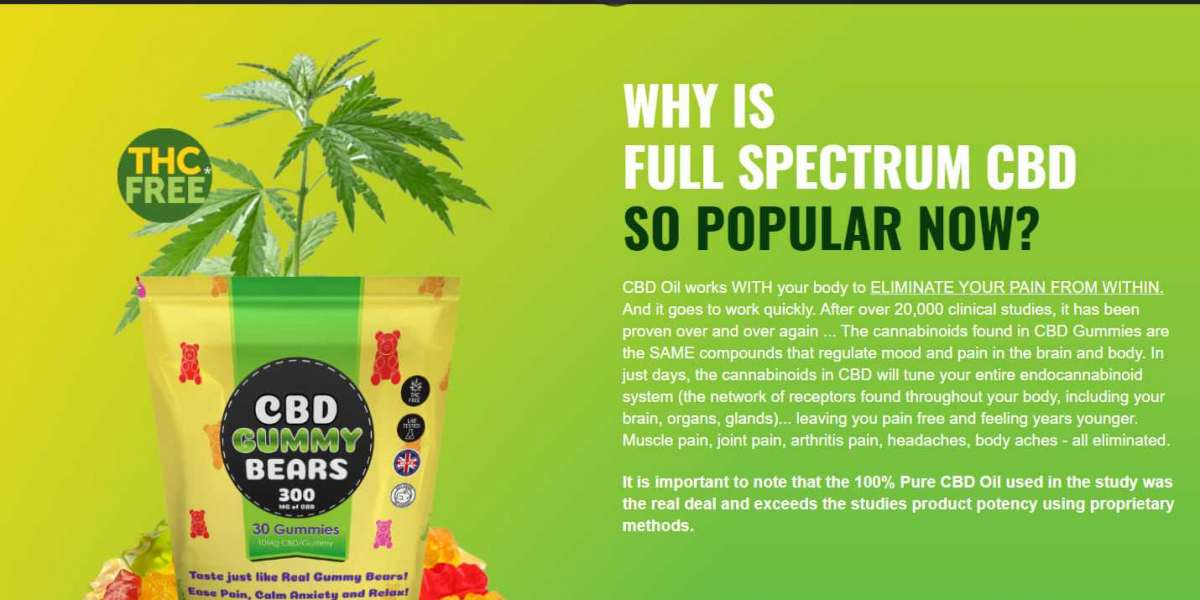 Green CBD Gummy Bears UK Review: Powerful Relief With No High Feeling, Price & Buy
