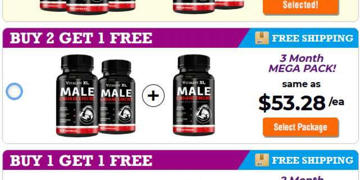 Vitality XL Male Enhancement (99% Safe Male Pills) Read USA People Reviews!
