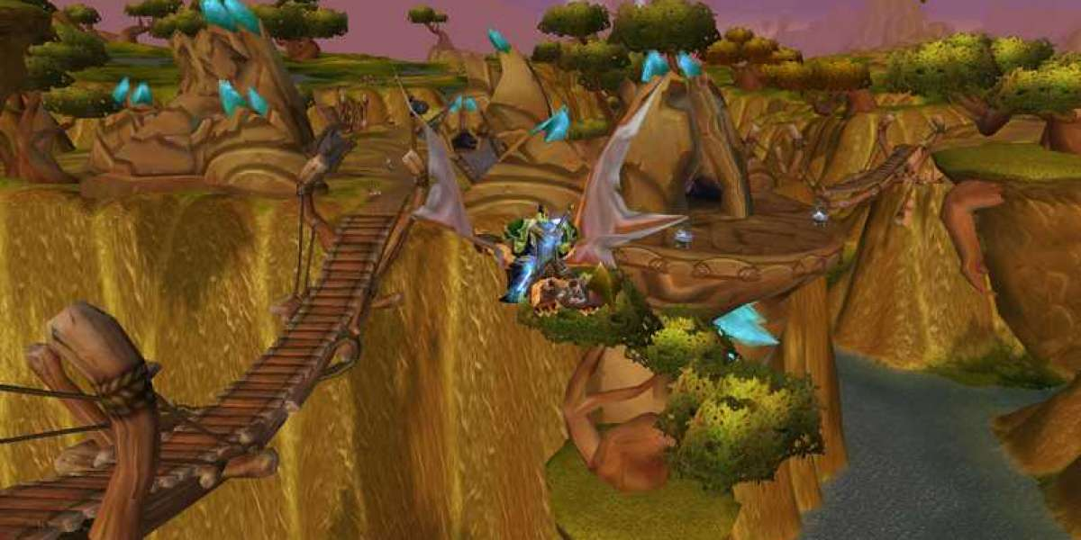 Some of amazing zones in World of Warcraft TBC Classic