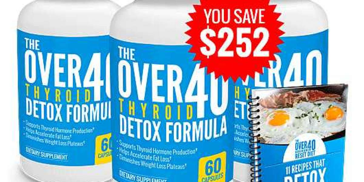 The Over-40 Thyroid Detox Formula Worth Buying? Any Side Effects? Real Reviews!