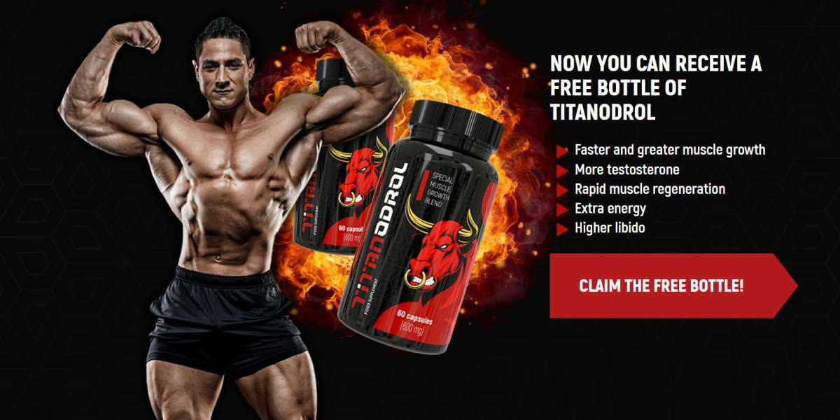 Titanodrol - Release Your Testosterone & Feel Extreme Muscle Growth